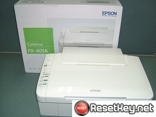 Reset Epson PX-401A printer Waste Ink Pads Counter