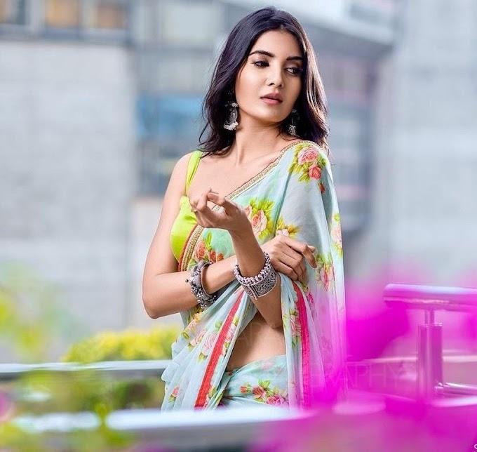 Tamil Actress Madhuri Jain is a Latest Saree Pics