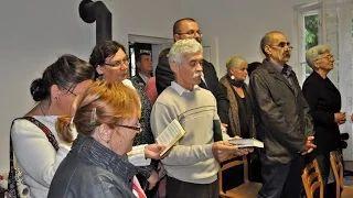 Ereky István Emlékház avatás és szentmise Lipótfán - Ó hald meg Uram