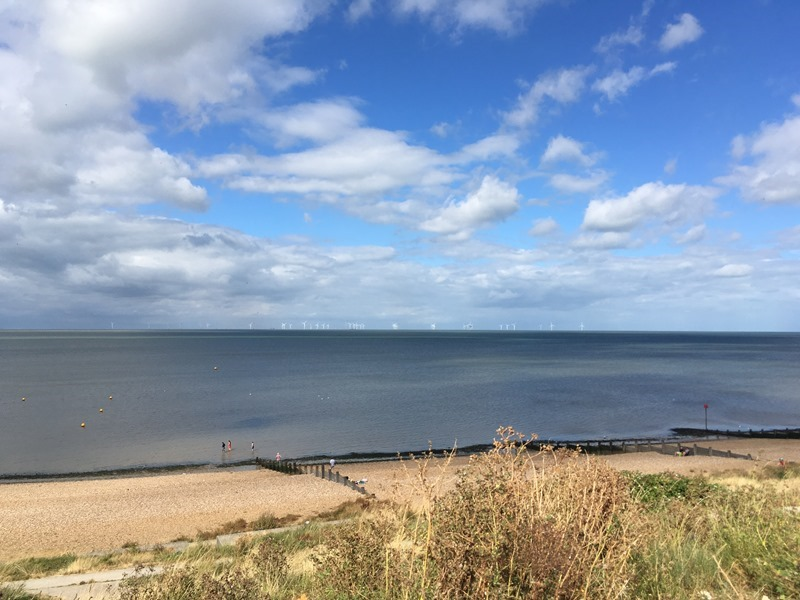 Wind Farms in the Distance, Tankerton Beach