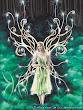 Green Shining Magic Fairy