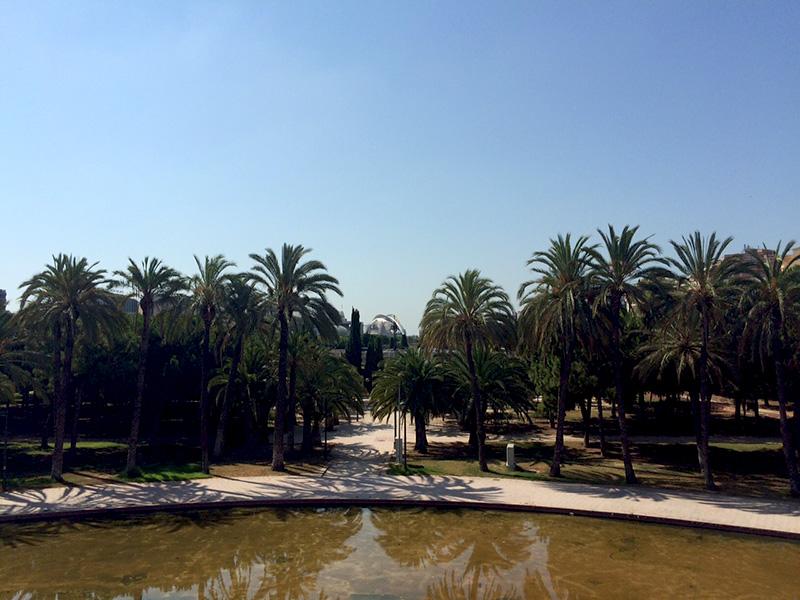 Jardines del Turia, un fin de semana en Valencia