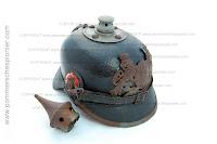Model 1915 spiked helmet