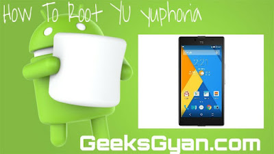 How to root YU YUphoria [Easy safe Method]