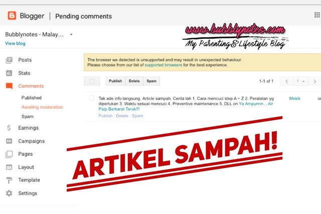 ARTIKEL SAMPAH!  (2)