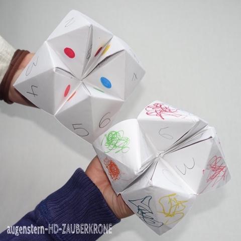 augenstern hd zauberkrone unterwegs mit kindern origami. Black Bedroom Furniture Sets. Home Design Ideas