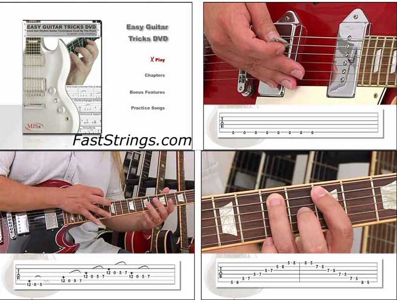 Mark John Sternal - Easy Guitar Tricks