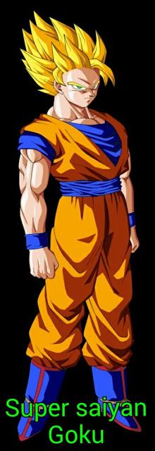 goku super saiyan to super saiyan 5 forms