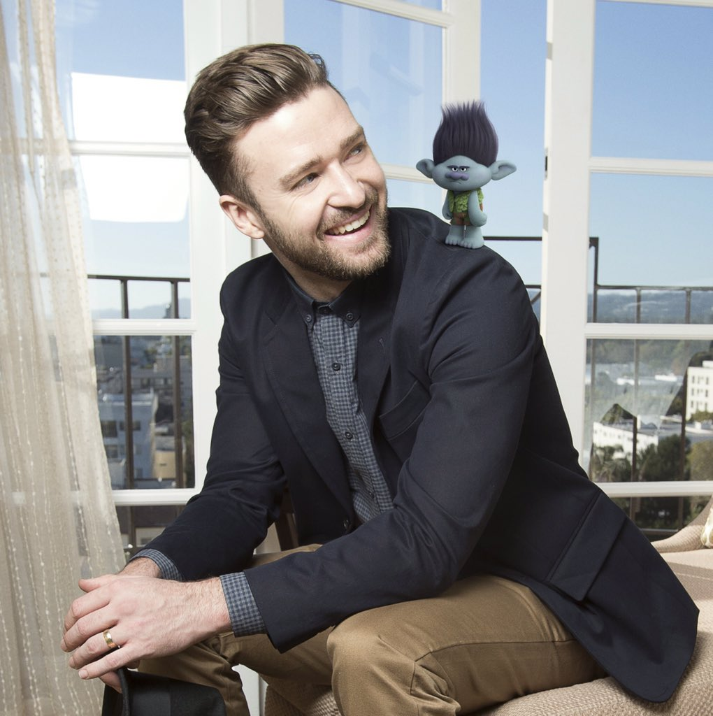 Justin Timberlake voices Branch in DreamWorks Animation's TROLLS.