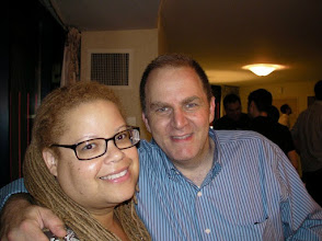 """Photo: with infamous """"outing"""" journalist Mike Rogers, featured in the documentary Outrage."""