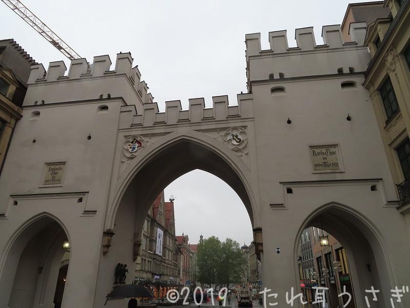 カールス門を早朝から観光してきたので口コミ・レビュー ミュンヘン市内観光 ドイツ旅行⑲