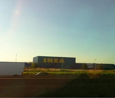 Ikea in Paris, France www.thebrighterwriter.blogspot.com
