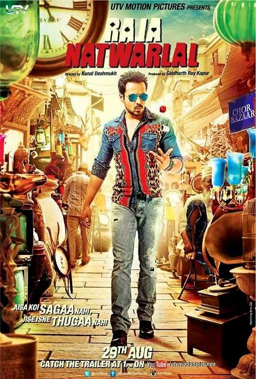 Poster Of Hindi Movie Raja Natwarlal (2014) Free Download Full New Hindi Movie Watch Online At Alldownloads4u.Com