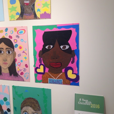 """Swag"" Self Portrait by local NYC Public School Student, on Exhibit at the Guggenheim Museum"