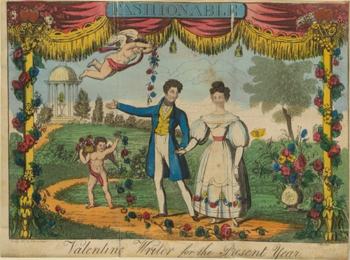 Imagen tomada de la página 8 de 'Richardson's New Fashionable Lady's Valentine Writer, or Cupid's Festival of Love' (Derby, 1830)