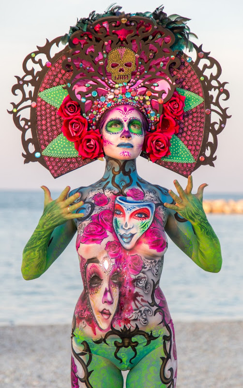 IMG_5118 Color Sea Festival Bodypainting 2018