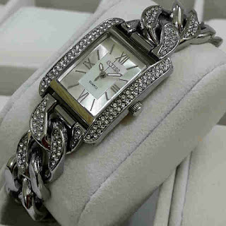 jam tangan Guess 1kepang segi silver