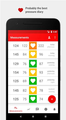 Cardio Journal u2014 Blood Pressure Log 3.2.0 Screenshots 1