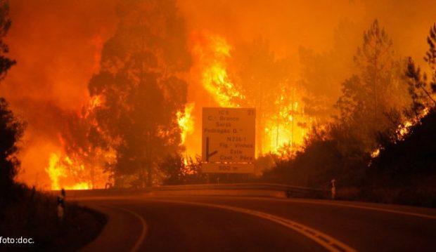 California Diterpa Kebakaran Dahsyat Warganet : Azab Untuk Negara Itu