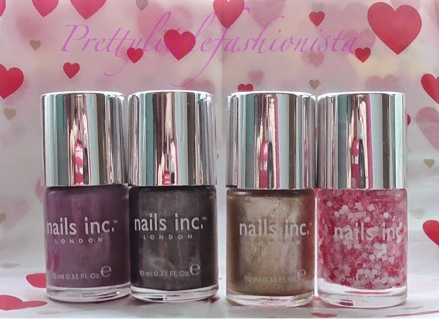 Nails Inc- Devonshire Row, Argyll Street, Westminster Abbey and Adam's Row