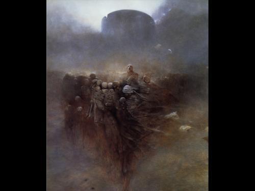Zdzislaw Beksinski Dead Rock, Death