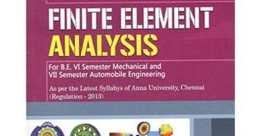 Finite Element Analysis Book By Senthil Pdf