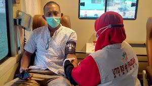 PMI Kecamatan Jeunieb Gelar Kegiatan Donor Darah