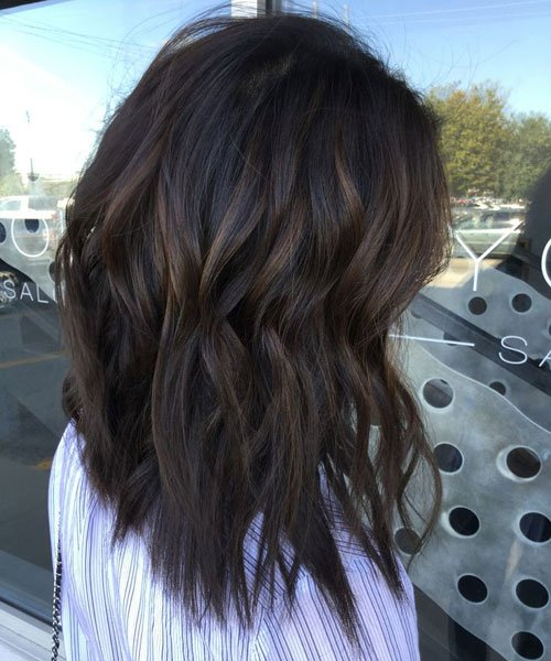 Black Hair With Light Brown Highlights Tumblr 1