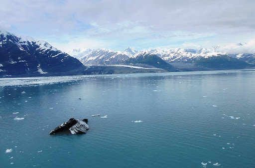 The Hubbard Glacier was the high point of our Seven Seas Mariner cruise to Alaska, not only for its spectacular beauty but for its sounds as fracturing ice fell into the sea.