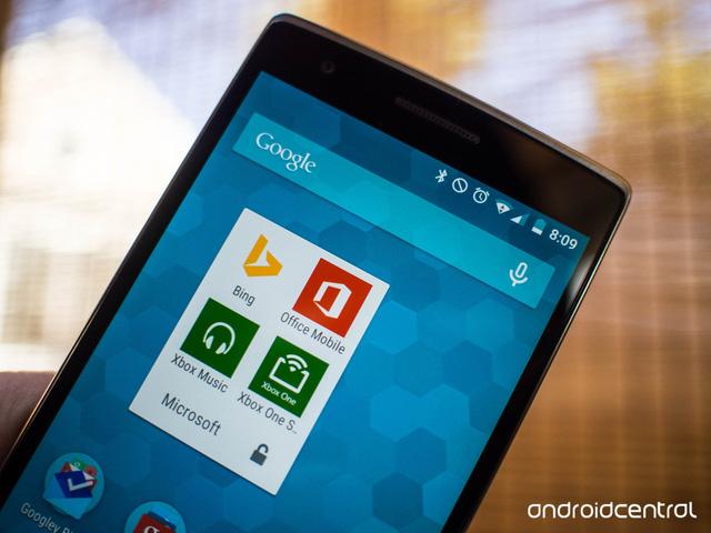 Cái bắt tay giữa Microsoft và Cyanogen OS.