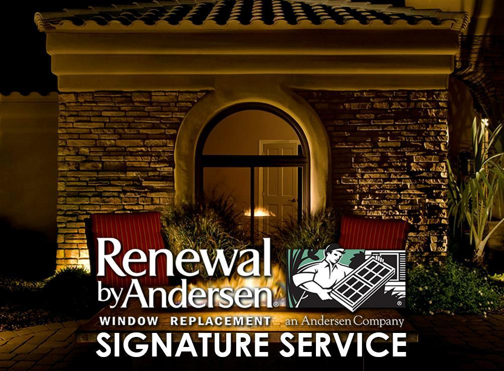 Renewal By Andersen 174 S Signature Service Renewal By