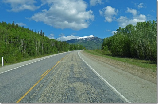 Highway 40 near Hinton