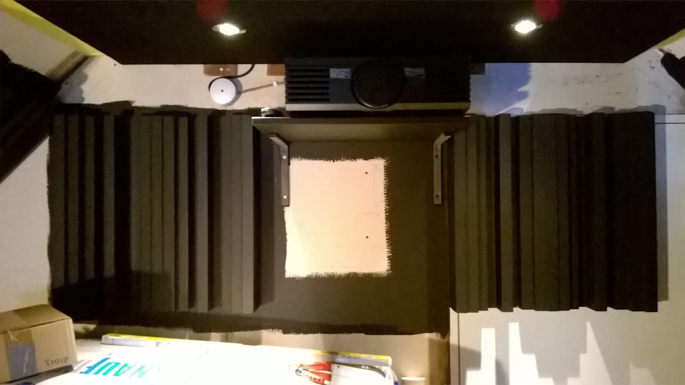how to join mdf wall panels to hid gaps