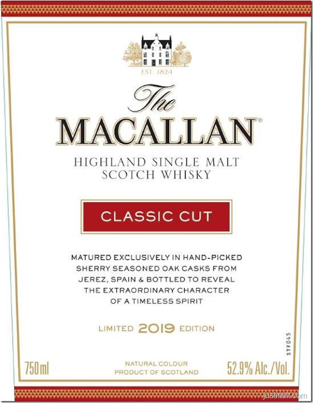 The Macallan Classic Cut 2019 Highland Single Malt Scotch Whiskey