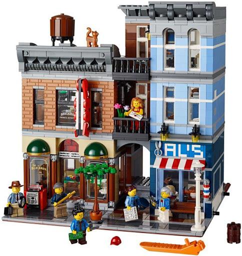 Contenido de Lego® 10246 La Oficina del Detective