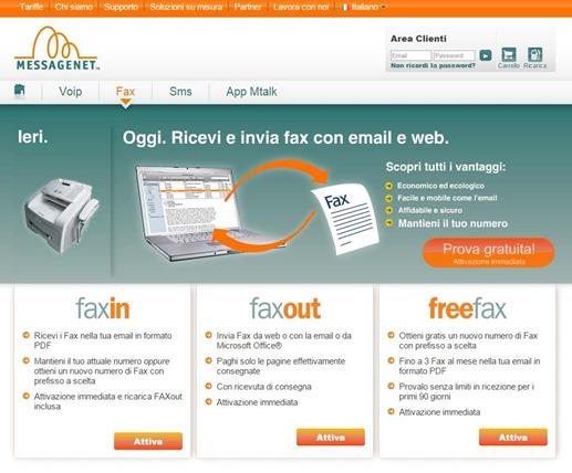 aef32a9f9e Si possono inviare fax in tutto il mondo con FaxOUT al costo di 0,1086€ IVA  inclusa per le più importanti destinazioni acquistando una ricarica con un  ...