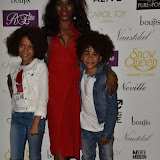 OIC - ENTSIMAGES.COM - Sinitta at the   Nina Naustdal - catwalk show  as Oslo born designer exhibits her aw 2015 couture - ss 2016 and childrens wear collections in collaboration with MTV Staying Alive Foundation in London 27th September 2015 Photo Mobis Photos/OIC 0203 174 1069