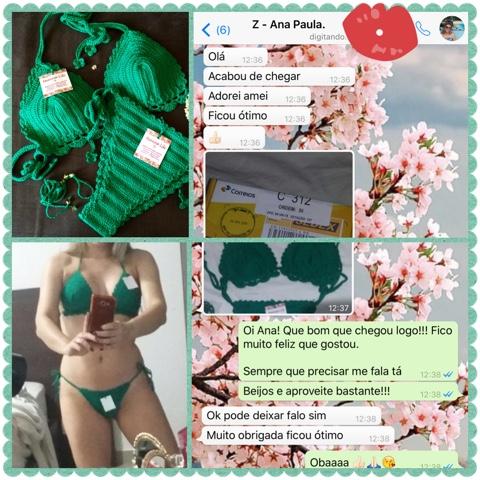 Cliente Menina Lili Croche - Ana