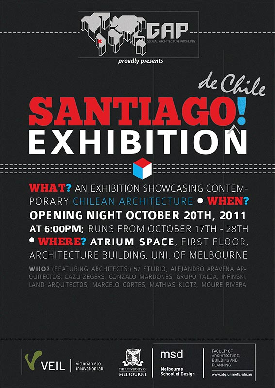 Photo: Chile Exhibition by GAP / University of Melbourne / Australia / 2011