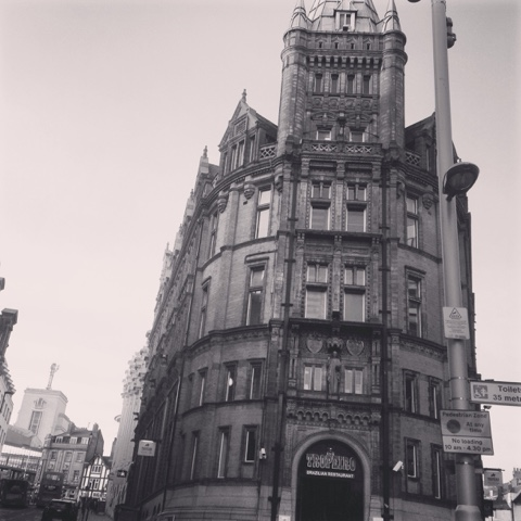 Old buildings in Nottingham city , love the urban look of Nottingham