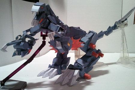 Zoids Saga Geno Hydra Papercraft