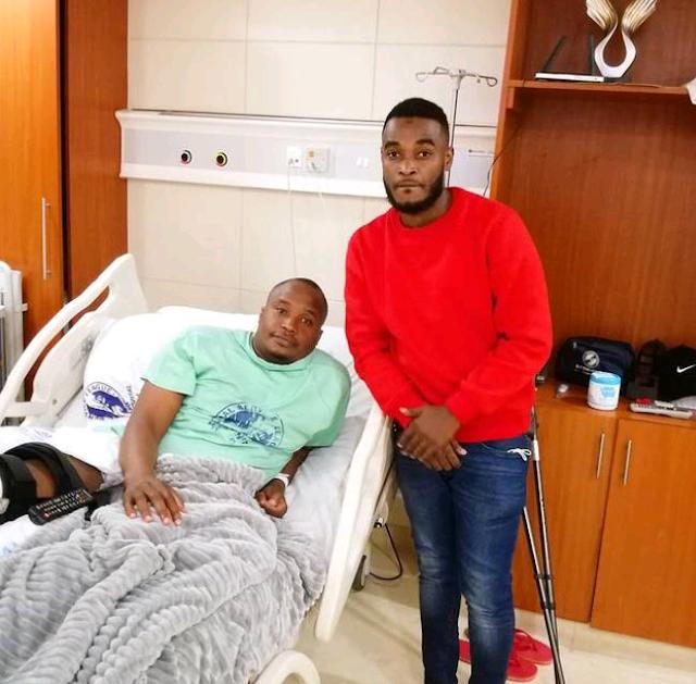 Starehe Mp Charles Njagua 'Jaguar' in MP Shah hospital photos