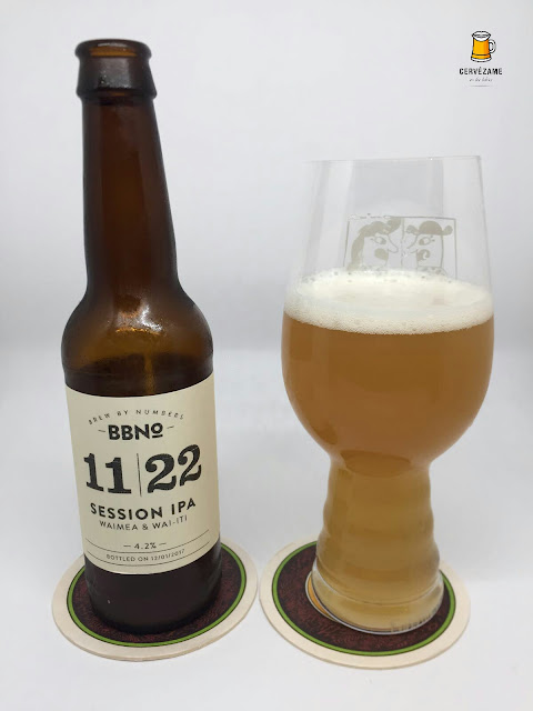 Brew By Numbers 11/22 Session IPA Waimea Wai Iti