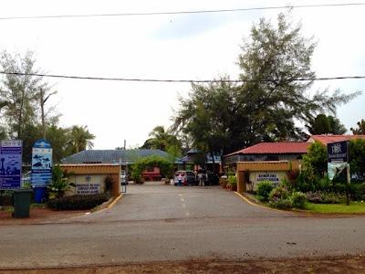 Chalet Persatuan Nelayan Entrance