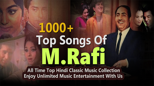 Mohammad Rafi Songs - Rafi Songs - Old Hindi Songs app (apk