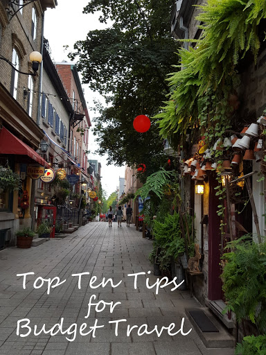 Top Ten Tips for Budget Travel