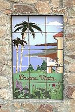 Photo: Levin Mural Private Residence - Malibu, CA