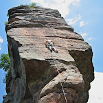 Climbing around Windstein