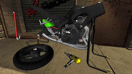 Fix My Motorcycle: Bike Mechanic Simulator! LITE 90.0 screenshots 2
