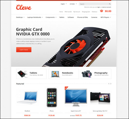 cleve-modern-responsive-opencart-theme